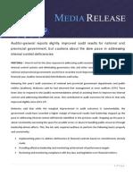 Auditor General Report 2015