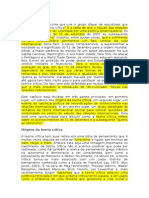 Critical Theory RICHARD DEVETAK - Tradução