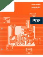 CUMMINS KTA19 - Ballast Handling System