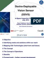 Dextre-Deployable Vision Sensor Presentation
