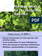 BMP's for NRCS