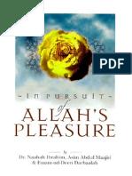 In Pursuit of  Allah s Pleasure