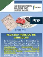 Registro Publico de Vehiculos en El Salvador