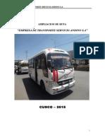ampliacion de ruta ANDINO.doc