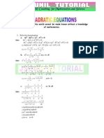 10th Quadratic Equations Solved Problems -3.Compressed