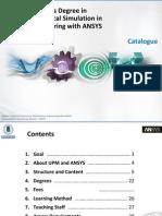 UPM ANSYS Masters Degree Catalogue