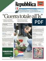 LaRepubblica 15.11.2015
