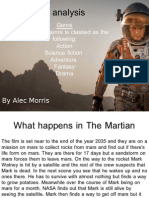 The Martian Analysis