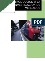 Resumen de Introduccion a La Investigacion de Mercados