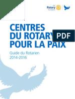 CENTRES DU ROTARY POUR LA PAIX GUIDE DU ROTARIEN  085fr.pdf