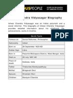 Ishwar Chandra Vidyasagar 5337