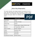 Raja Ram Mohan Roy 5302