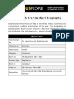Upendranath Brahmachari 5855