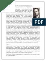 Biografia Virgilio Lopez Macal