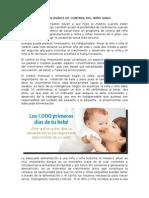 Generalidades de Control Del Niño Sano