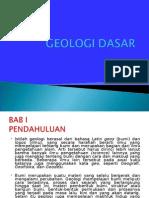 PRESENTASI GEOLOGI DASAR1