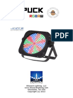 The Puck Rgbaw Cp User Manual Rev c