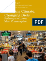 Diet Climate Change