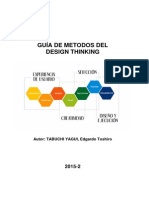Design Thinking (V2.0) - Guia de Metodos