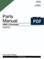 Manual de Partes Excavadora 345 DL Vol2