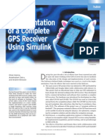 Implementation of a Complete GPS Receiver Using Simulink