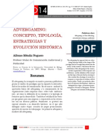 Icono14. Nº15. Advergaming. Concepto, tipología, estrategias y evolución histórica