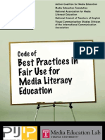 Media Literacy Guidelines