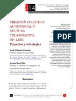 Icono14. Nº15. Creación colectiva audiovisual y cultura colaborativa on-line. Proyectos y estrategias
