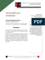 Icono14. Nº15. Televisión en Internet
