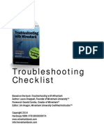 TroubleshootingChecklistChappell-ISBN9781893939974