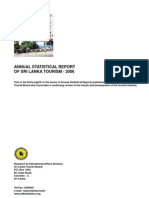 Sri Lanka Tourist Board Annual Statistical Report 2006