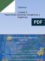 04- Unidad 4 Reacciones Quimicas Para Ambientales