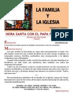 HORA SANTA CON EL PAPA. La Familia y La Iglesia (25)