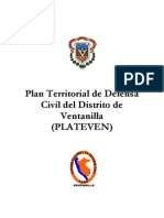Plan Territorial de Defensa Civil del Distrito de Ventanilla (PLATEVEN) SISTEMA NACIONAL DE DEFENSA CIVIL VENTANILLA