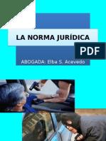 La Norma Juridica
