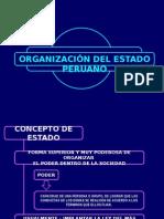 Organizacion Del Estado Peruano