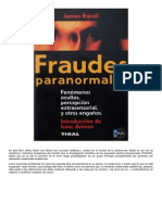 James Randi - Fraudes Paranormales