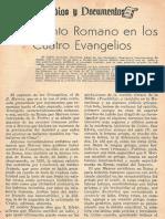 EL Elemento Romano en Los 4 Evangelios - Giuseppe Ricciotti