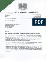 MEC audit response (appendices)