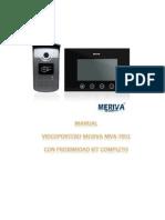 Manual Videoportero MVA 7051