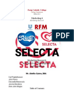 UPDATED SELECTA Marketing Research on Research and Development and Promotion
