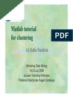 4Workshop Matlab for Clustering