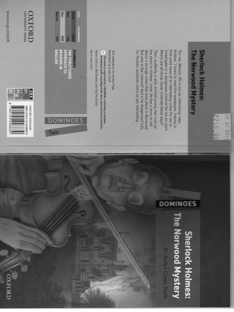 libro sherlock holmes the norwood mystery pdf