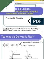 Controle I - Transformada de Laplace e técnicas de controle