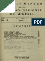 Boletin minero