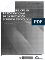 Diseño Curricular Básico Nacional de La Educación Superior Tecnológica - DIGESUTPA -  069 - 2015 - MINEDU