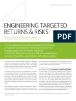 Engineering Targeted Returns and Risks