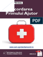 Acordarea Primului Ajutor Raport Special