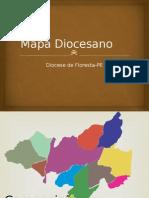 Mapa Diocesano - Floresta -PE
