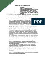Projeto de Lei 664-2015
